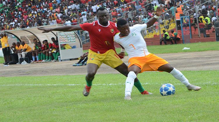 Elim CAN U 23: la Guinée laisse la Côte d'Ivoire filer en Egypte