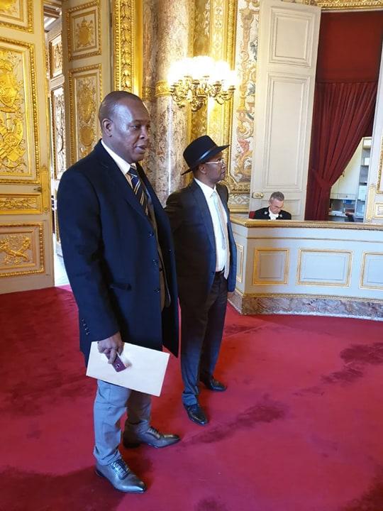 Le général Konaté, encore et toujours en mode double V.I.P sur le vieux continent !