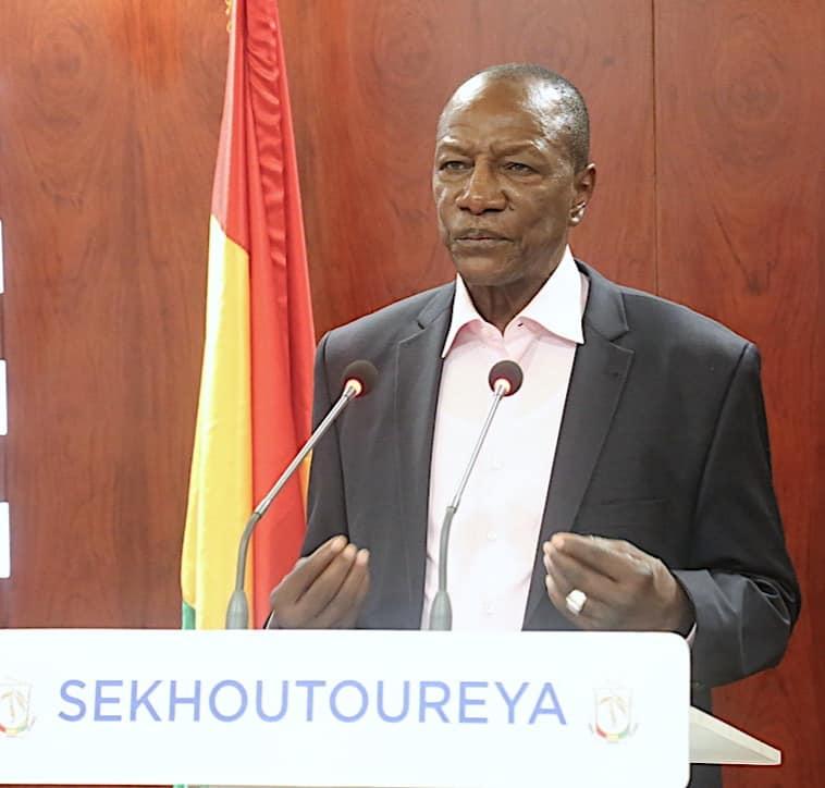 Drame au Libéria: les condoléances du président Condé ( communiqué )