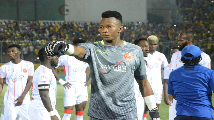 Le gardien du Horoya AC, Moussa Camara, promis à un bel avenir