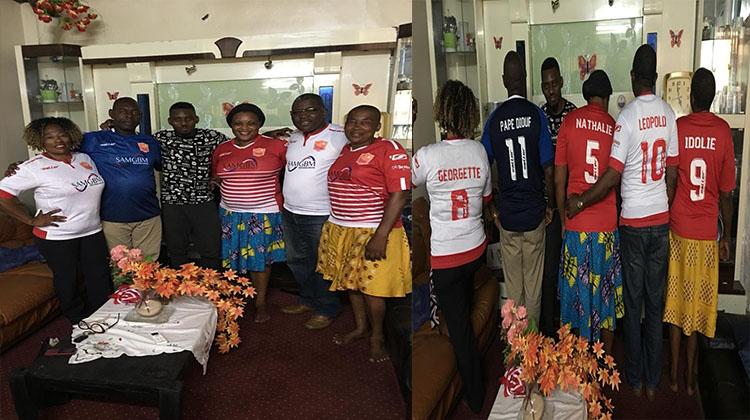 Des dons du Horoya AC et des projets au Cameroun