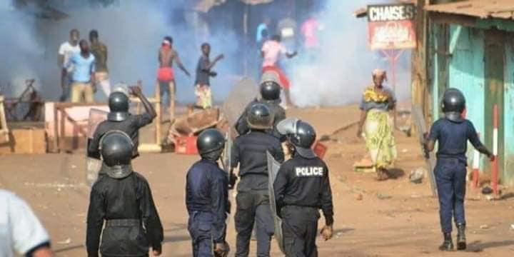 Manifestations contre la nouvelle constitution: le Fndc parle de 7 morts