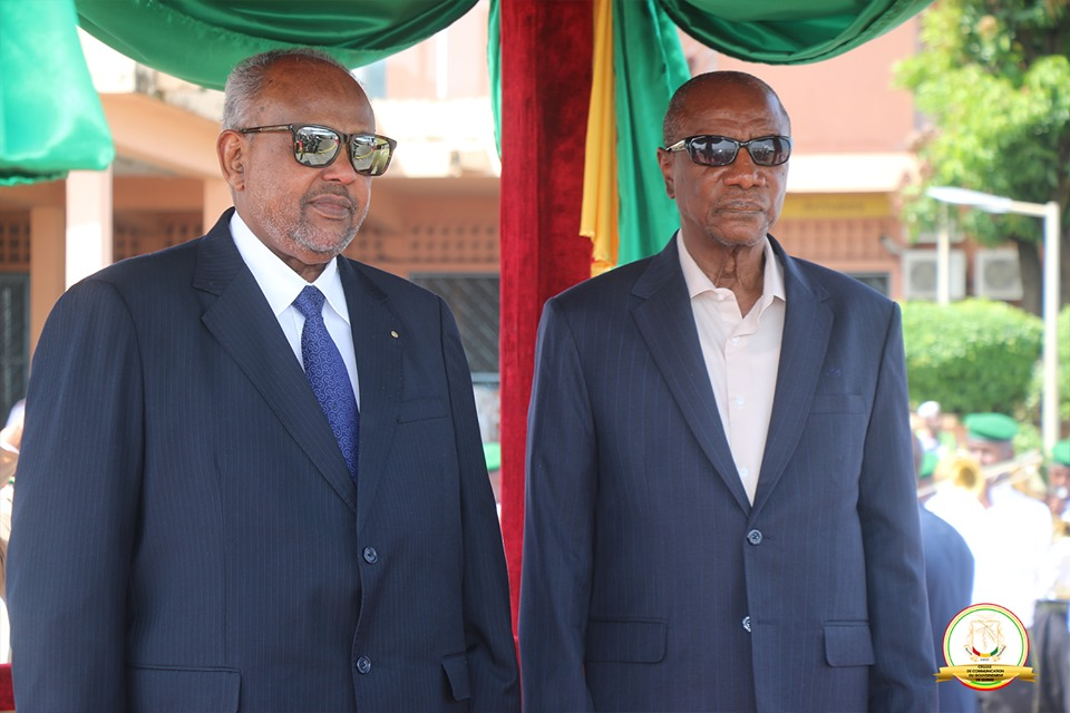 Visite d'Etat du Président Djiboutien en République Guinée