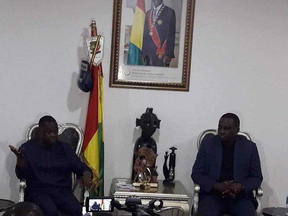 Le ministre Bantama Sow à Antonio Souaré: