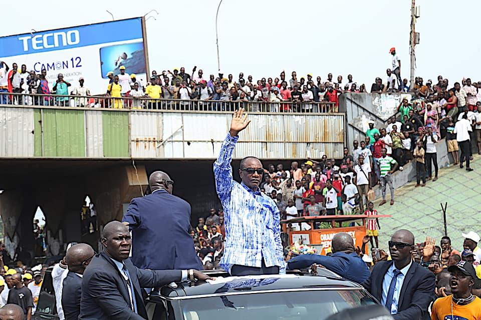 Le Président Alpha Condé de retour à Conakry: une mobilisation extraordinaire