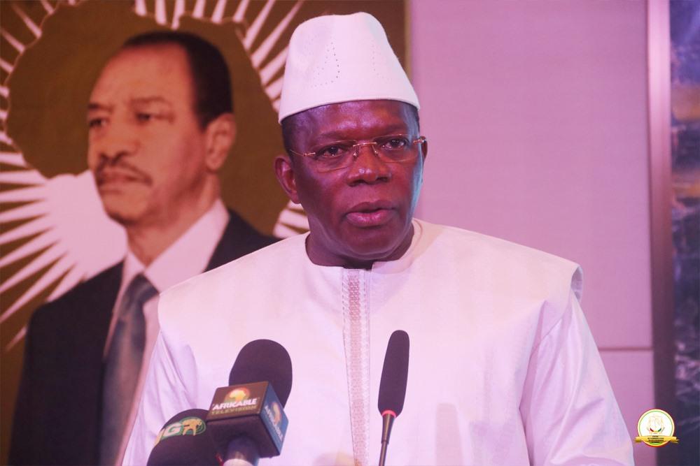 Dialogue de haut niveau sur l'inclusion financière en Guinée: allocution du premier ministre Kassory Fofana
