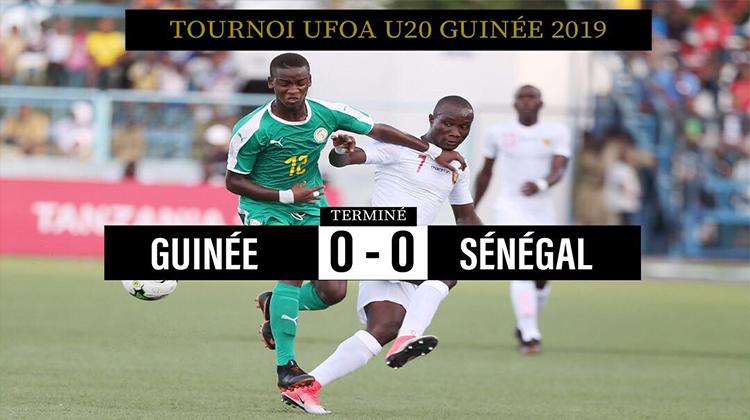 Tournoi UFOA-A/ Guinée vs Sénégal: derby sans but