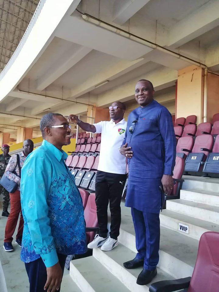 Un émissaire de la CAF et de la FIFA à Conakry pour contrôler le Stade Gl Lansana Conté