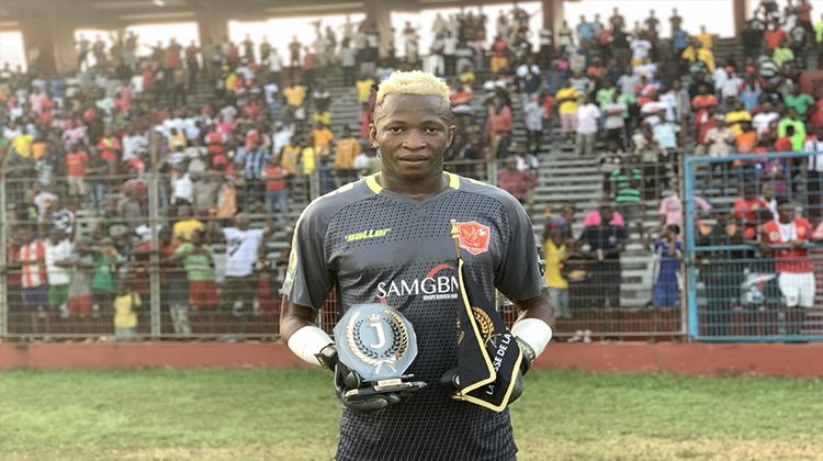 Lauréat des J-Awards: le gardien de buts du Horoya AC, meilleur sportif de l'année