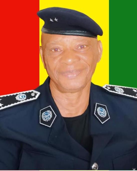 Couleurs Nationales et hommages militaires pour un ancien Commis de L'État, feu Elhadj Yaya Camara