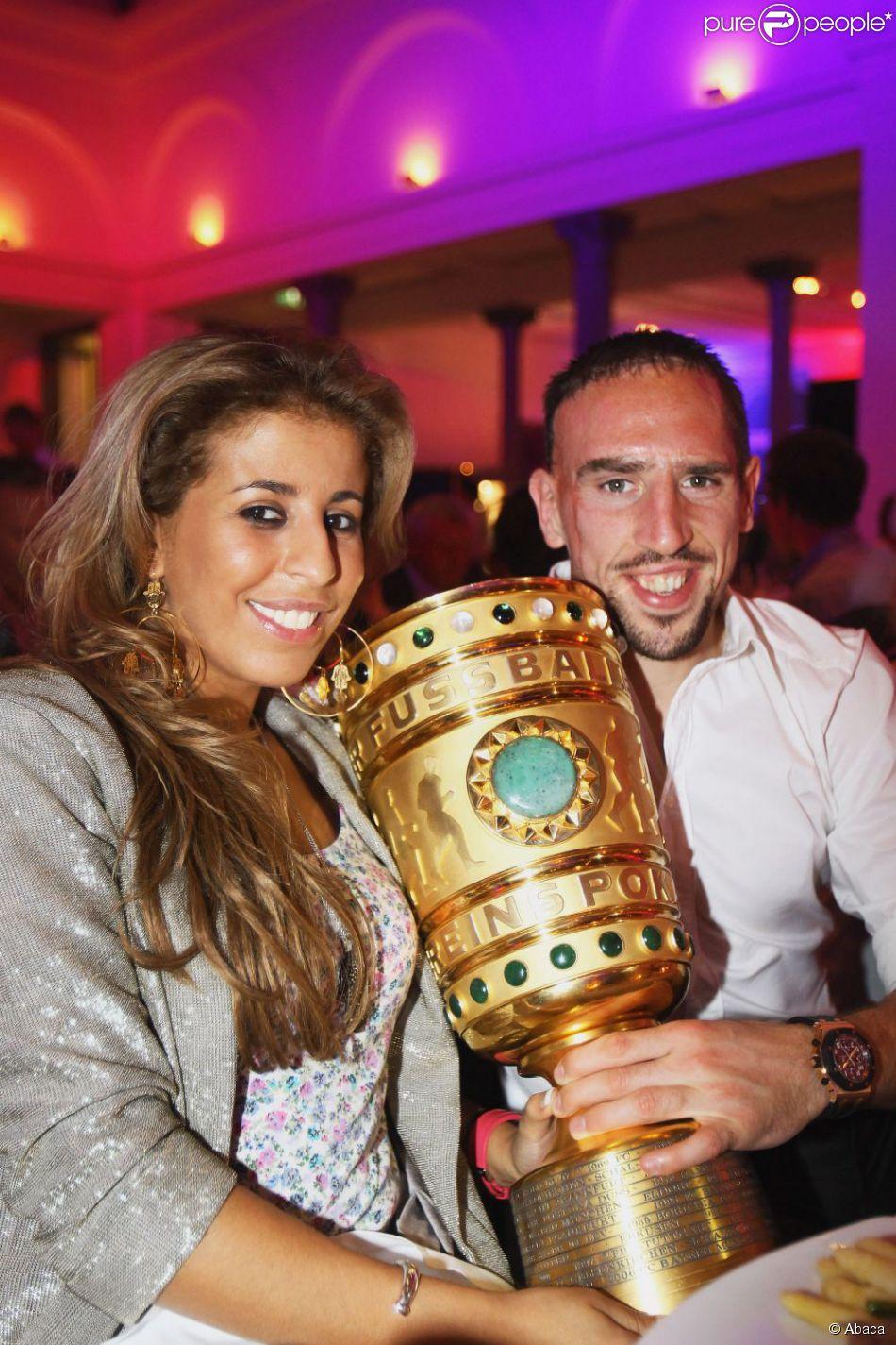 Ribery: sa femme lui offre une montre de 120 000 dollars pour le nouvel an