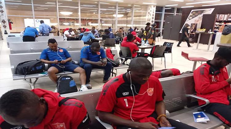 Coupe de la CAF: 21 guerriers du Horoya AC débarquent à Bamako