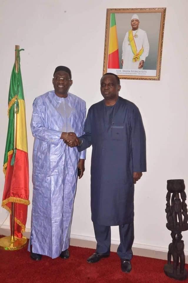 Bamako: intenses activités du Président de l'UFOA, Antonio Souaré