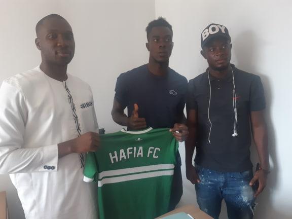 Footballl: le Hafia FC recrute l'attaquant international Libérien,  Terry Panye Sackor