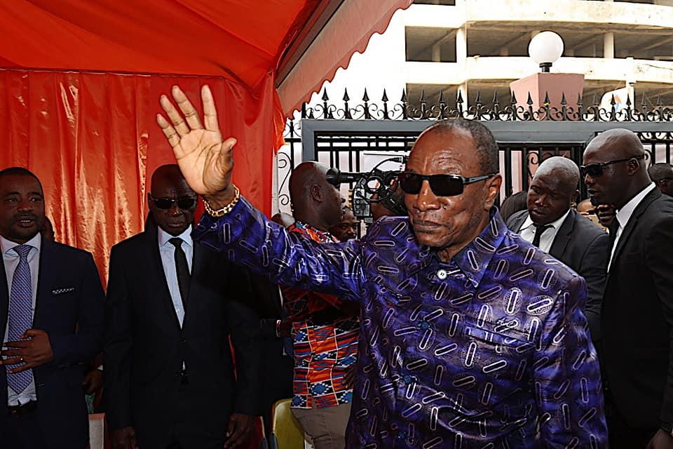 Référendum constitutionnel: le président Alpha Condé ne recule pas et annonce les couleurs