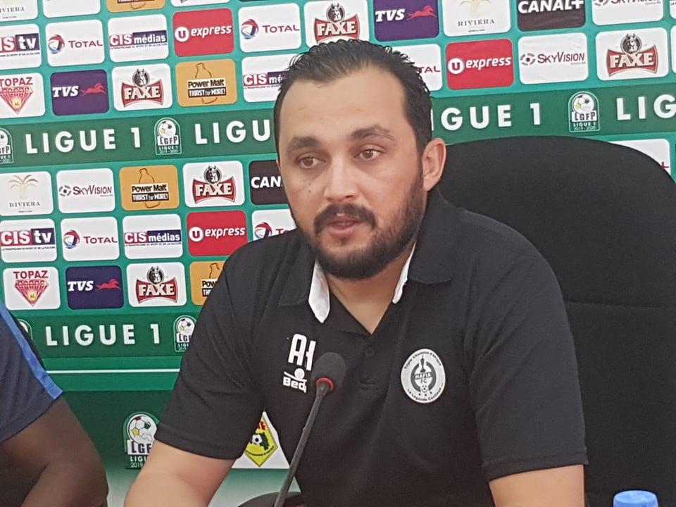 Aymen Hbibi le préparateur physique et le Hafia FC se séparent à l'amiable