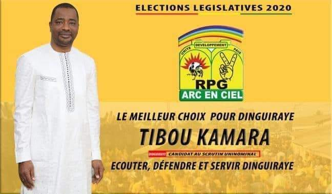 Législatives: le ministre Tibou Kamara sur la ligne de départ