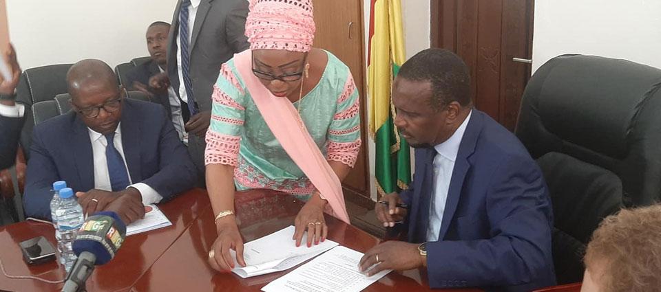 Reforme de la société de gestion de l'aéroport de Conakry