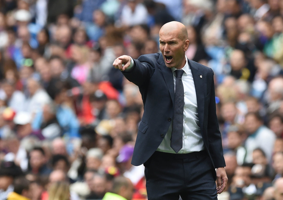 Zidane victime d'un accident de la circulation