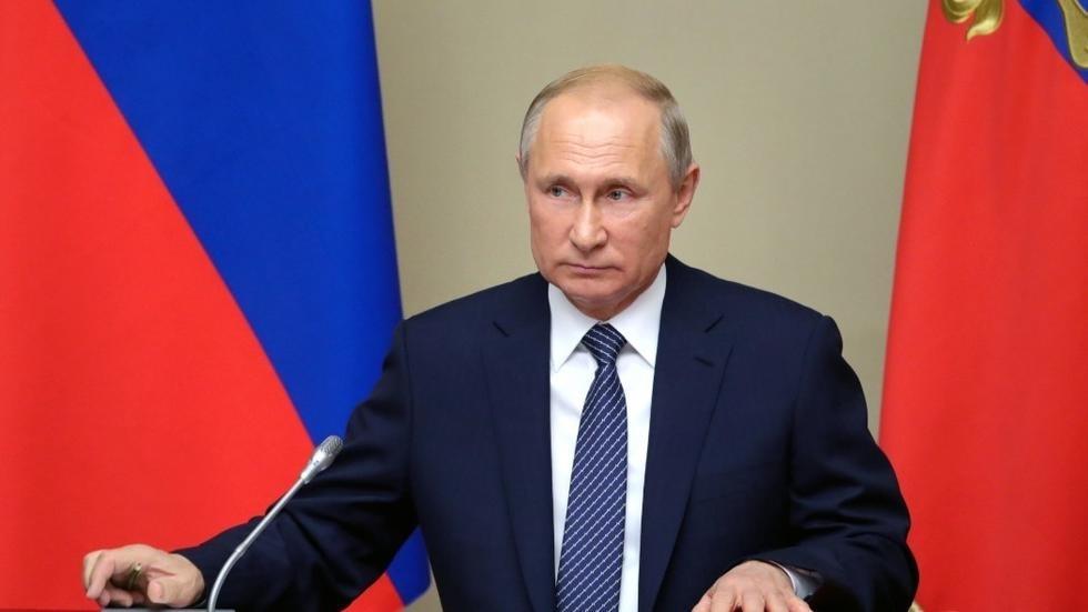 Pour Vladimir Poutine, un mariage n'est possible qu'entre «un homme et une femme»