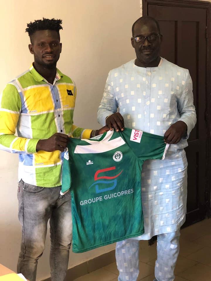 Ligue 1 Pro: le président Kerfalla Camara  (KPC) renforce l'effectif du Hafia FC