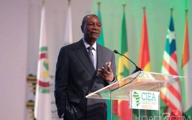 Coronavirus: le président Alpha Condé prend des dispositions pour limiter les dégâts