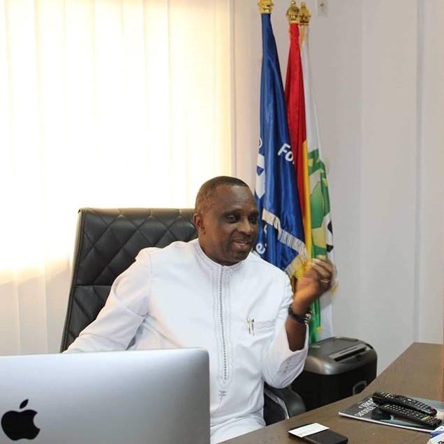 L'hommage du secrétaire général du Comité National Olympique et Sportif Sénégalais au président Antonio Souaré ( Vidéo )
