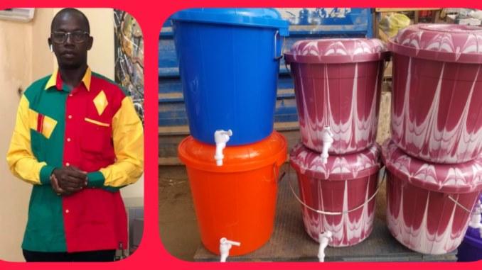 Coronavirus: un proche du président Antonio Souaré offre des kits aux installations sportives