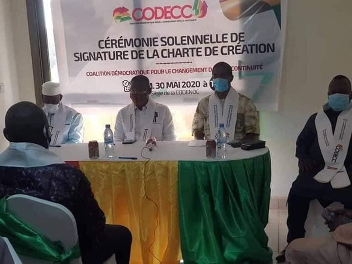 Sékhoutouréyah 2020: des proches de Alpha Condé lancent la Coalition Démocratique pour le Changement dans la Continuité