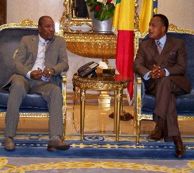 Un avion de l'ami de Alpha Condé, le président Sassou du Congo, saisi en France