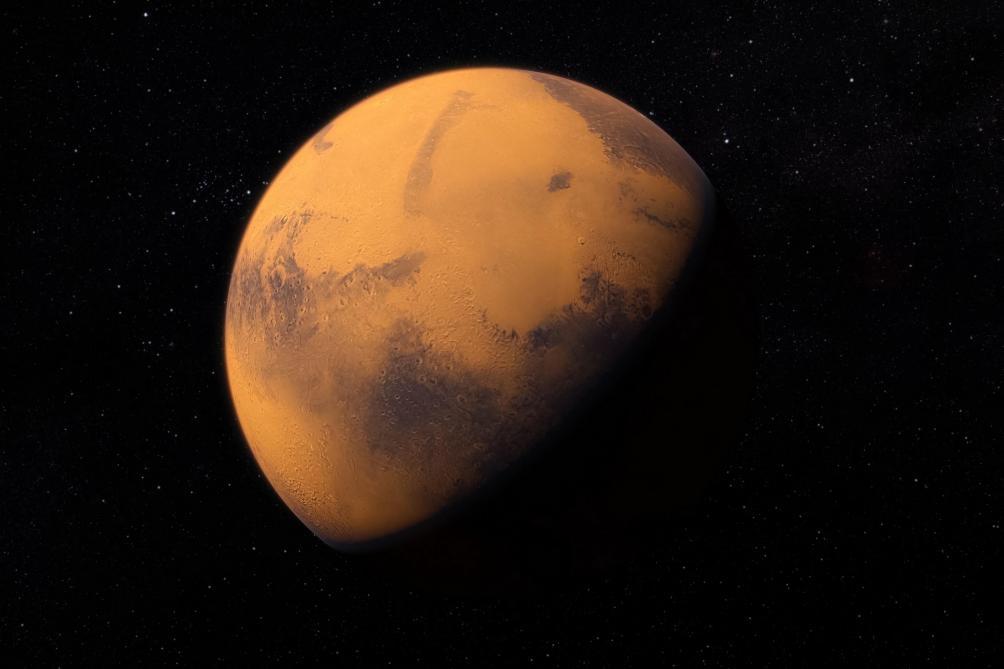 Voici la surface de la planète Mars ( Vidéo )