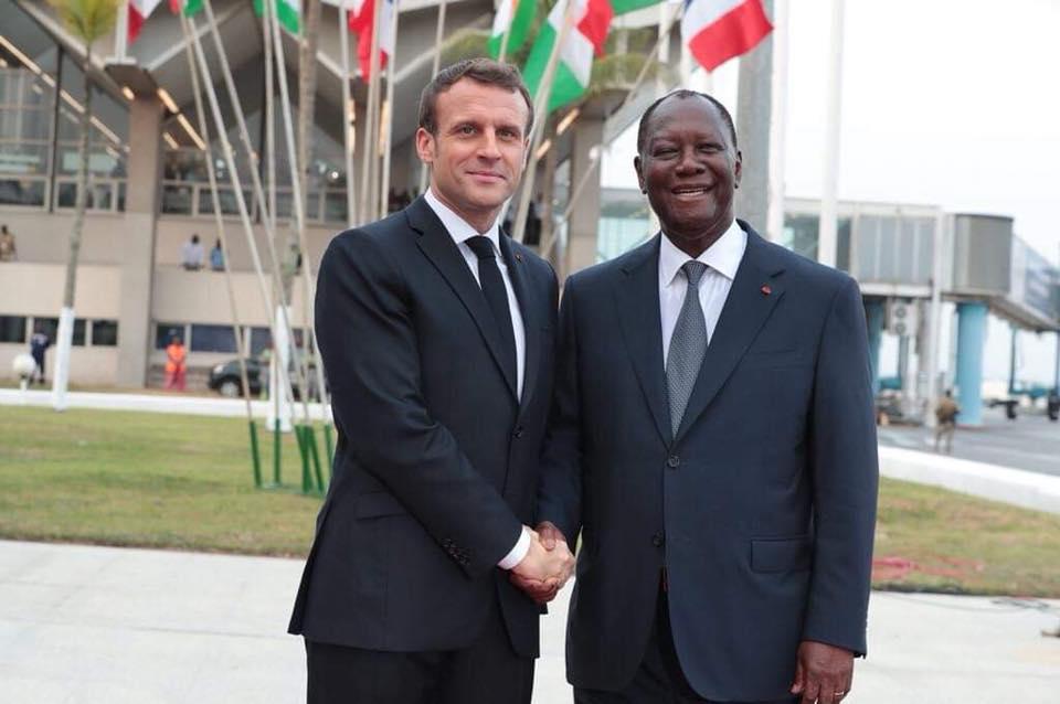 Macron dit non à un 3e mandat de Ouattara