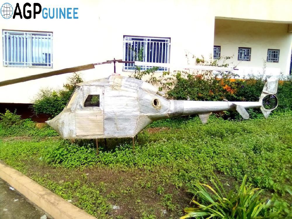 Mamou: après voir fabriqué un hélicoptère mono place, Boubacar Diawara lance un appel à l' Etat