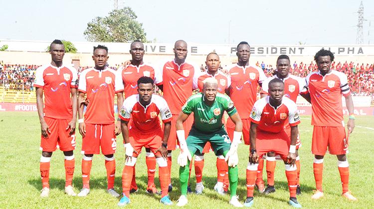 Ligue 1 Pro: le Horoya AC va débuter la nouvelle saison en croisant le fer avec Flamme Olympique