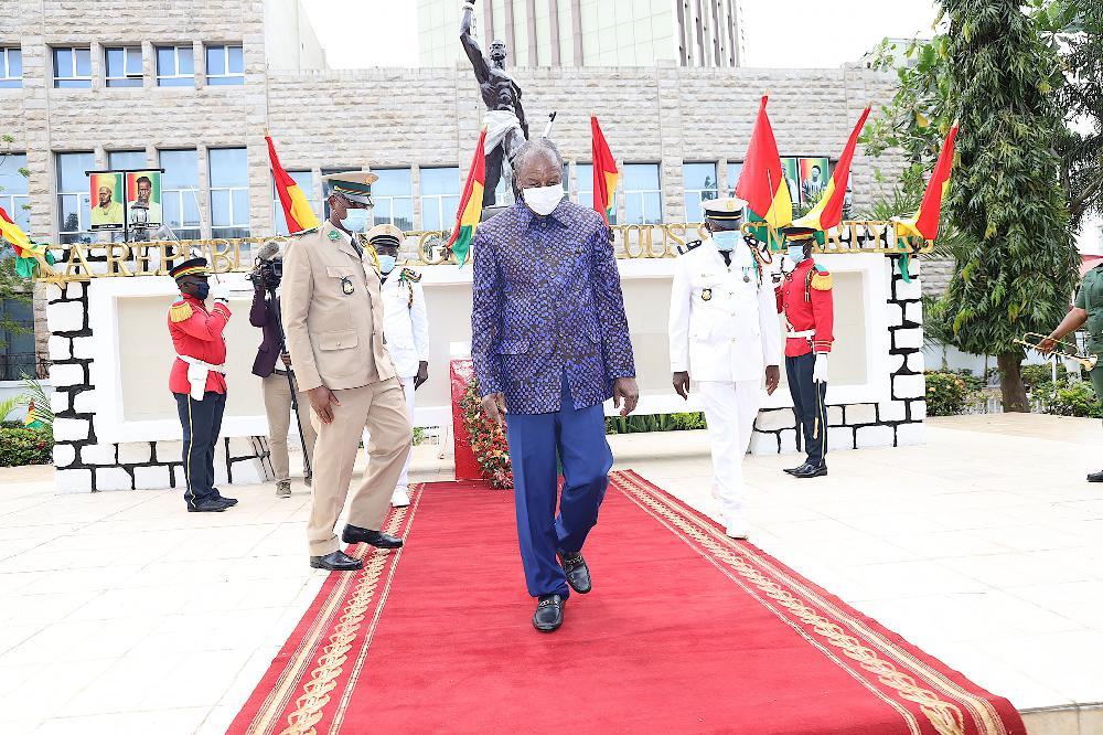 Sékhoutouréyah 2020: pourquoi Alpha Condé n'a pas emprunté la route pour se rendre à N' Zérékoré ?