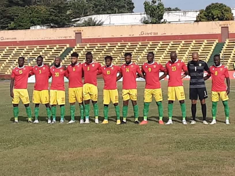 Eliminatoires CAN 2021: le e Syli National de Guinée prend le dessus sur les Sao du Tchad ( vidéo )