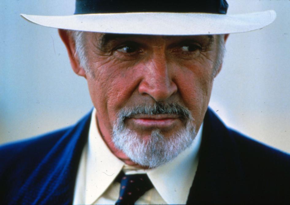 Les cendres de Sean Connery