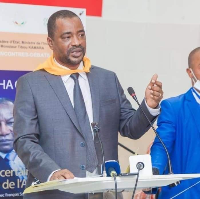 Aboubacar Soumah du Slecg à propos de Tibou Kamara: « c'est quelqu'un qui a le courage de dire la vérité»
