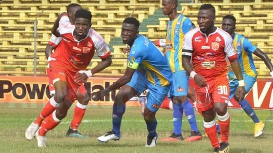 Cinq buts contre Satellite FC en Ligue 1 Salam, les images du festival du Horoya AC ( vidéo )