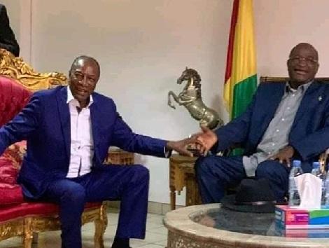 Mamadou Sylla va-t-il rendre visite à Ousmane Gaoual et à ses codétenus ? Le député chez Alpha Condé