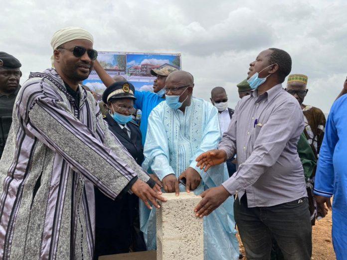 Dubréka/ Pose de la première pierre d'une unité industrielle: Tibou Kamara réitère le soutien du gouvernement aux investisseurs