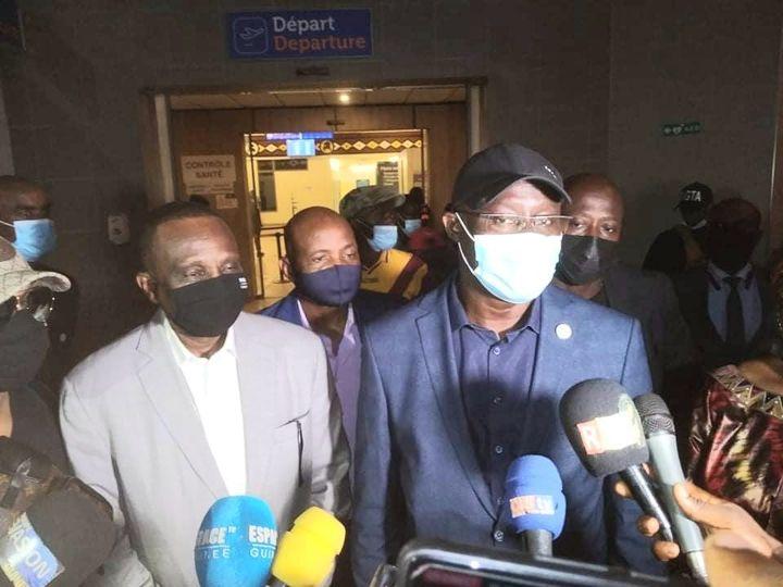 Confédération Africaine de Football: arrivée à Conakry du Sénégalais Augustin Senghor