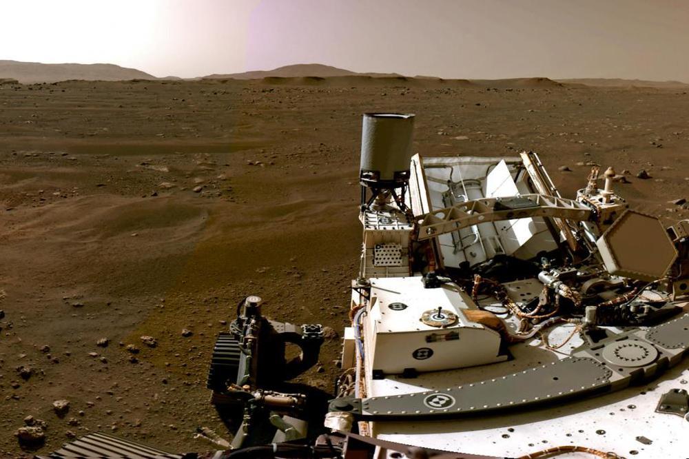Perseverance: la Nasa publie un panorama impressionnant de Mars