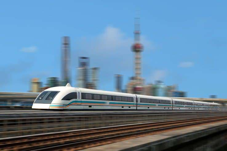 Une vitesse record pour le futur train à sustentation magnétique chinois