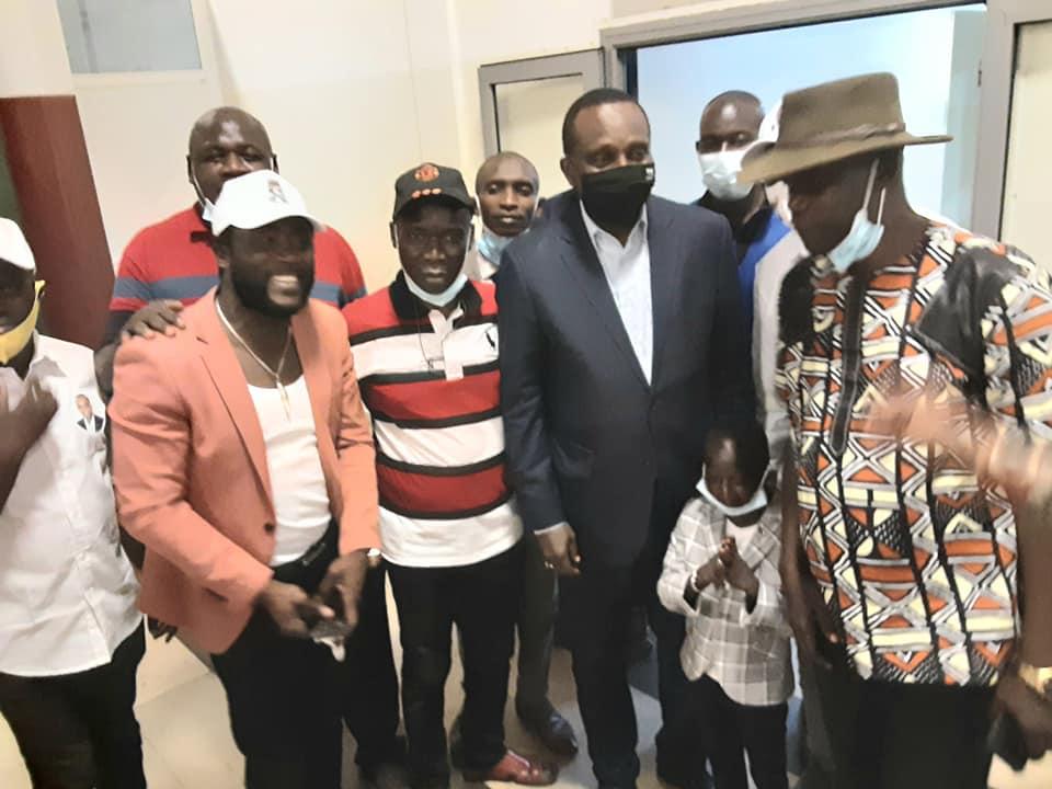 Retour triomphal du président Antonio Souaré à Conakry