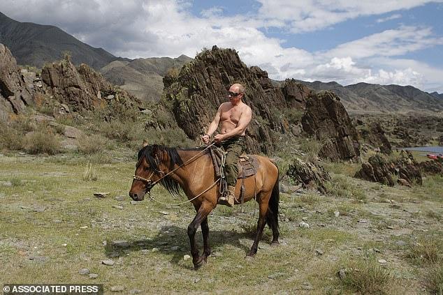 Vladimir Poutine a été élu l'homme le plus sexy de Russie