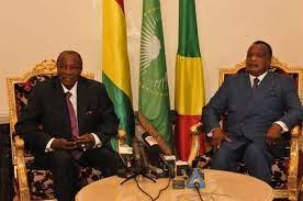 Arrivée de Alpha Condé à Brazzaville