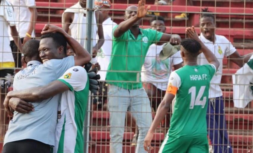 Ligue 1 Salam: le Hafia brise le signe indien contre le Wakriya et se retrouve en haut de l'affiche