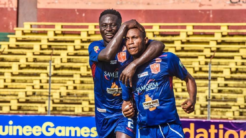 Ligue 1 Salam: face à Flamme Olympique, un Horoya AC, flamboyant, s'impose sur un score de 4 buts à 0