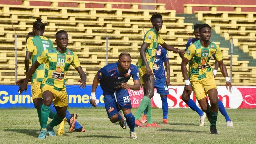 Ligue 1 Salam: le Horoya AC maîtrise le CI de Kamsar et s'empare de la 2e place